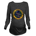 USS HAYNSWORTH Long Sleeve Maternity T-Shirt