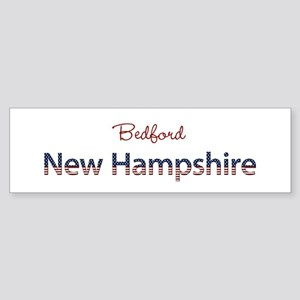 Custom New Hampshire Sticker (Bumper)