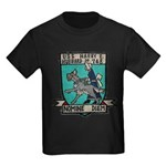 USS HARRY E. HUBBARD Kids Dark T-Shirt