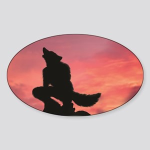Greet The Dawn Sticker (Oval)