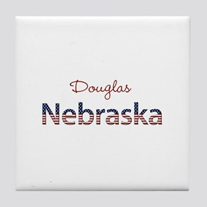 Custom Nebraska Tile Coaster
