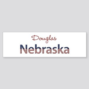 Custom Nebraska Sticker (Bumper)