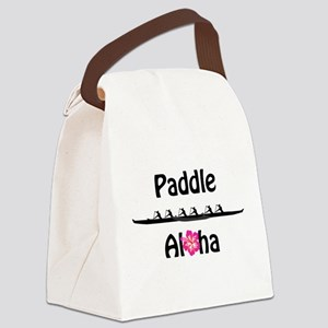 Paddle Aloha Wahine Canvas Lunch Bag