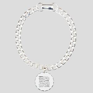 International I love you Charm Bracelet, One Charm