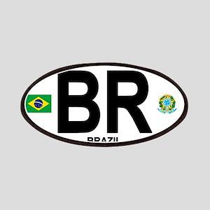 Brazil Intl Oval Patch