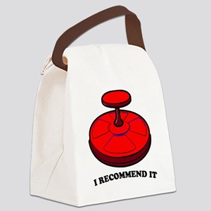Sit-n-Spin Canvas Lunch Bag