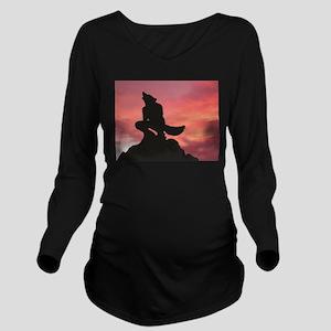 Greet The Dawn Long Sleeve Maternity T-Shirt