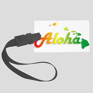 Aloha - Rasta Luggage Tag