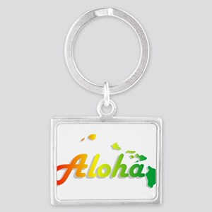 Aloha - Rasta Keychains