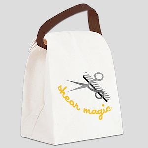 Shear Magic Canvas Lunch Bag