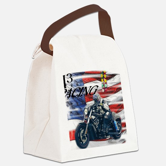 Unique H3 Canvas Lunch Bag
