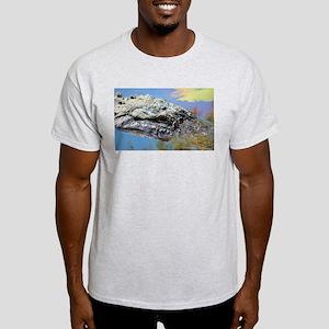 Alligator Closeup T-Shirt