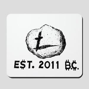 Primitive Litecoin Mousepad