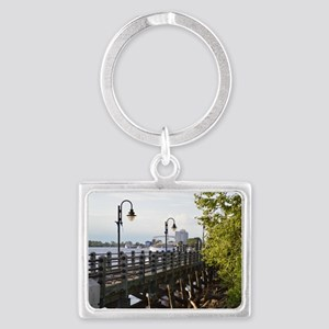 River Walk Wilmington  Landscape Keychain