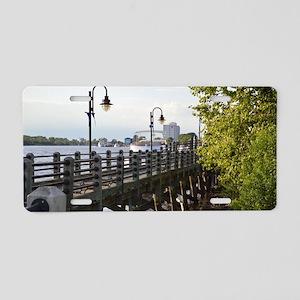 River Walk Wilmington  Aluminum License Plate