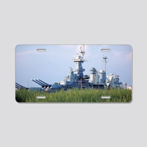 USS North Carolina  Aluminum License Plate