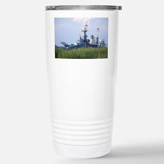 USS North Carolina  Stainless Steel Travel Mug