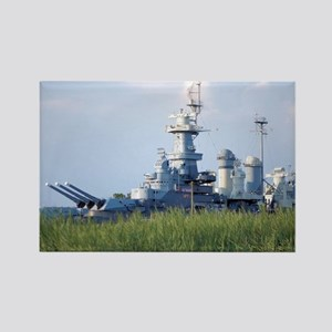 USS North Carolina  Rectangle Magnet
