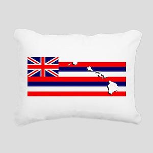 Flag - Hawaiian Island Rectangular Canvas Pillow