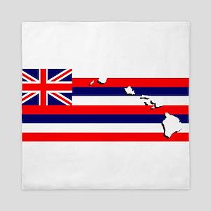 Flag - Hawaiian Island Queen Duvet