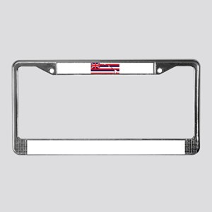 Flag - Hawaiian Island License Plate Frame