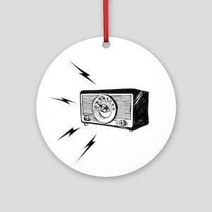 Old Radio! Ornament (Round)