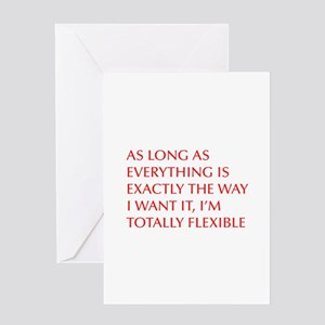 Funny long distance relationship greeting cards cafepress greeting cards as long as everything is exactly the way m4hsunfo