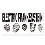 Electric Frankenstein logo Rectangle Sticker