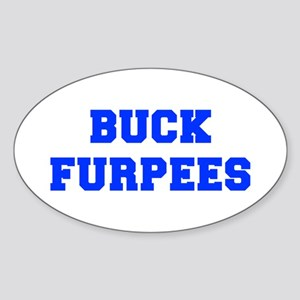 BUCK-FURPEES-FRESH-BLUE Sticker
