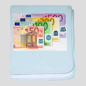 Euros baby blanket