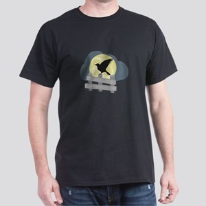 Raven On Fence T-Shirt