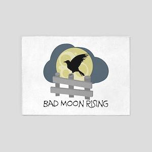 Bad Moon Rising 5'x7'Area Rug