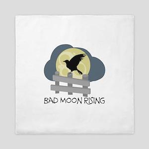 Bad Moon Rising Queen Duvet