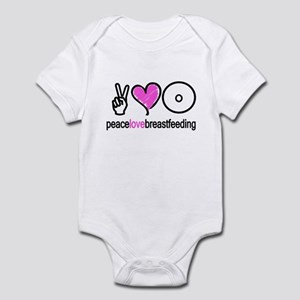 Peace, Love & Breastfeeding ( Infant Bodysuit