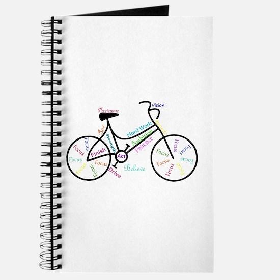 Motivational Words Bike Hobby or Sport Journal
