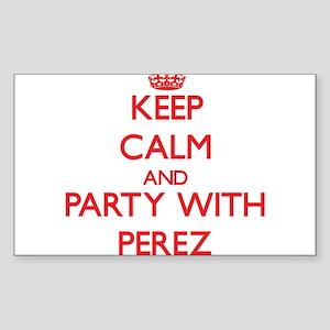 Perez Sticker