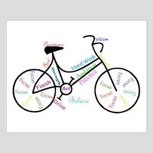 Motivational Words Bike Hobby or Sport Small Poste