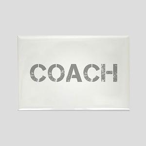 coach-CAP-GRAY Magnets