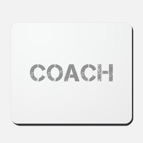 coach-CAP-GRAY Mousepad