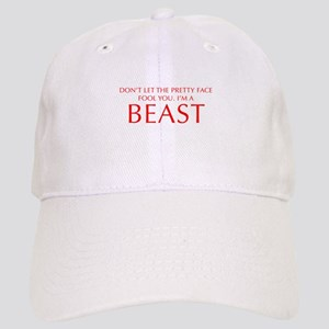 DONT-LET-THE-PRETTY-FACE-OPT-RED Baseball Cap