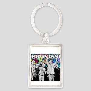 Juan & Evita Peron Portrait Keychain