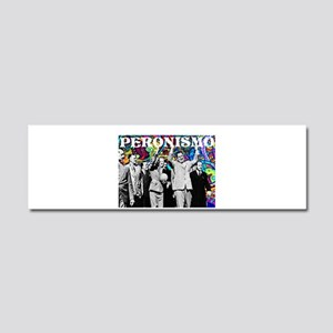 Juan & Evita Peron Car Magnet 10 x 3