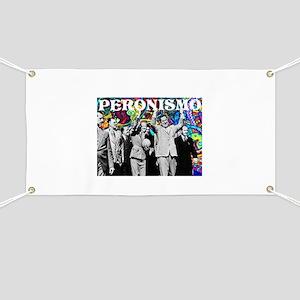 Juan & Evita Peron Banner