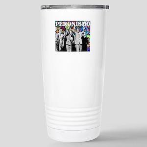 Juan & Evita Peron Stainless Steel Travel Mug
