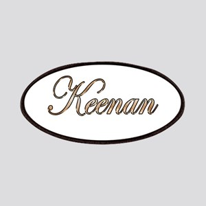Gold Keenan Patch
