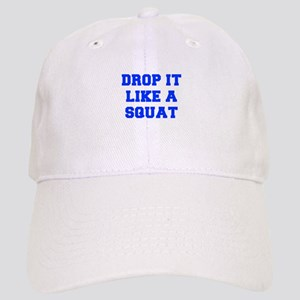 DROP-IT-LIKE-A-SQUAT-FRESH-BLUE Baseball Cap