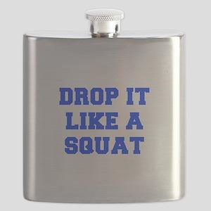 DROP-IT-LIKE-A-SQUAT-FRESH-BLUE Flask
