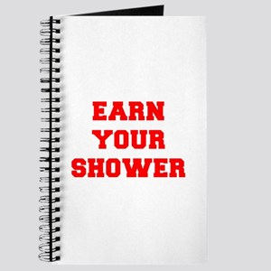 EARN-YOUR-SHOWER-FRESH-RED Journal