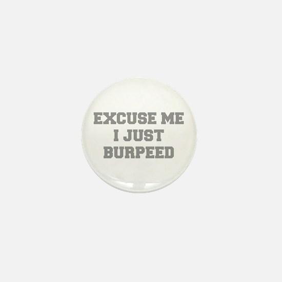 EXCUSE-ME-I-JUST-BURPEED-FRESH-GRAY Mini Button