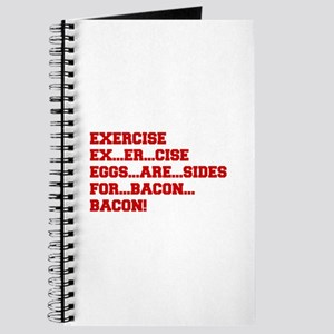 EXERCISE-BACON-FRESH-RED Journal